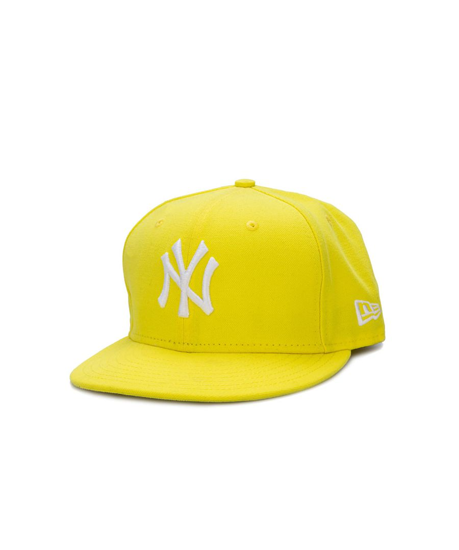 Image for Accessories New Era New York Yankees 59Fifty Basic Cap in Yellow