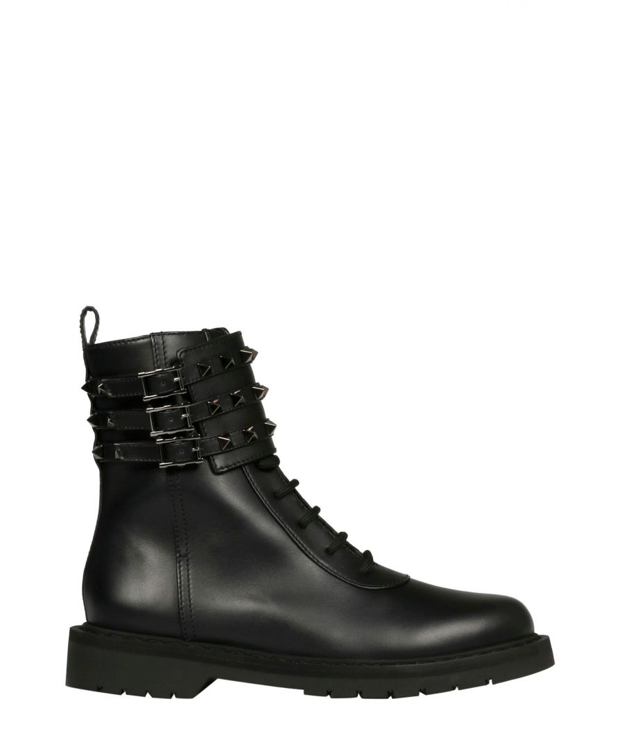 Image for VALENTINO WOMEN'S SW0S0R97BWQ0NO BLACK LEATHER BOOTS