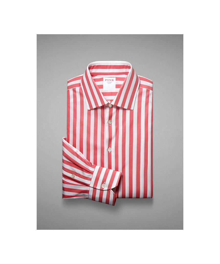 Image for Seaside Stripe Poplin Button Cuff
