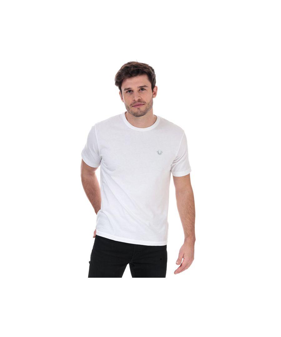 Image for Men's True Religion Seasonal Buddha T-Shirt in White