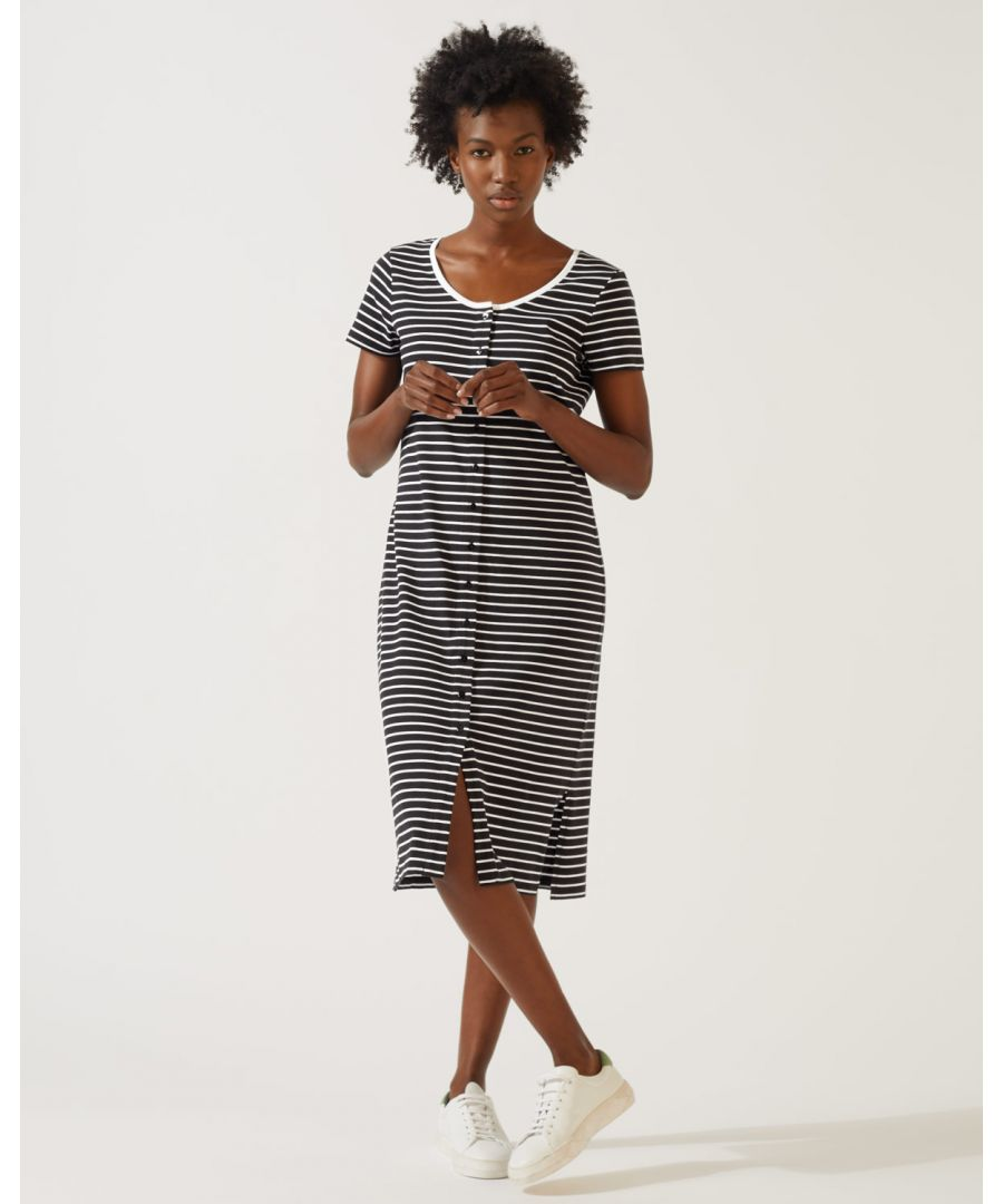 Image for Button Through Jersey Dress