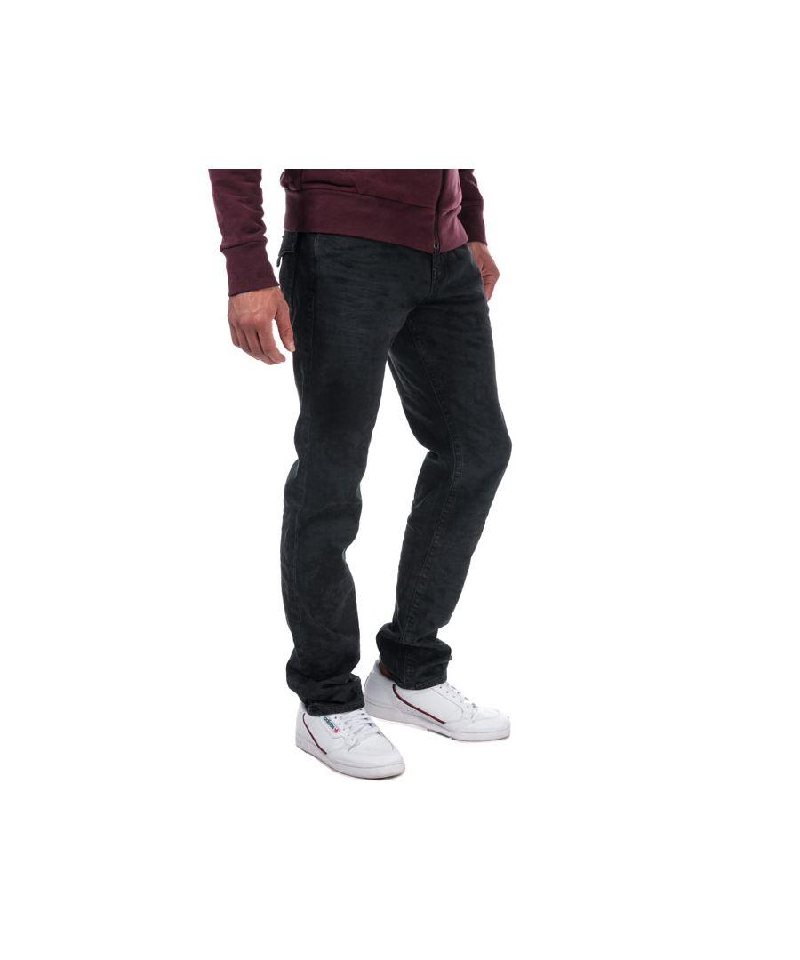 Image for Men's True Religion Geno Slim Fit Jeans in Black