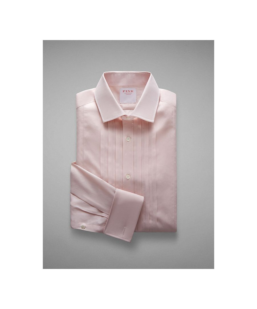 Image for Tailored Fit Evening Voile Double Cuff Shirt