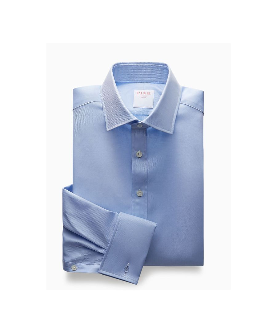 Image for Tailored Fit Royal Twill Double Cuff Shirt