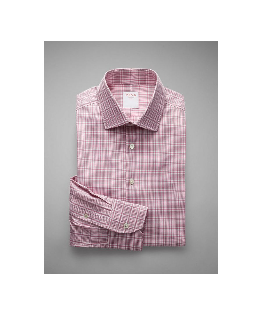 Image for Prince of Wales Check Twill Button Cuff