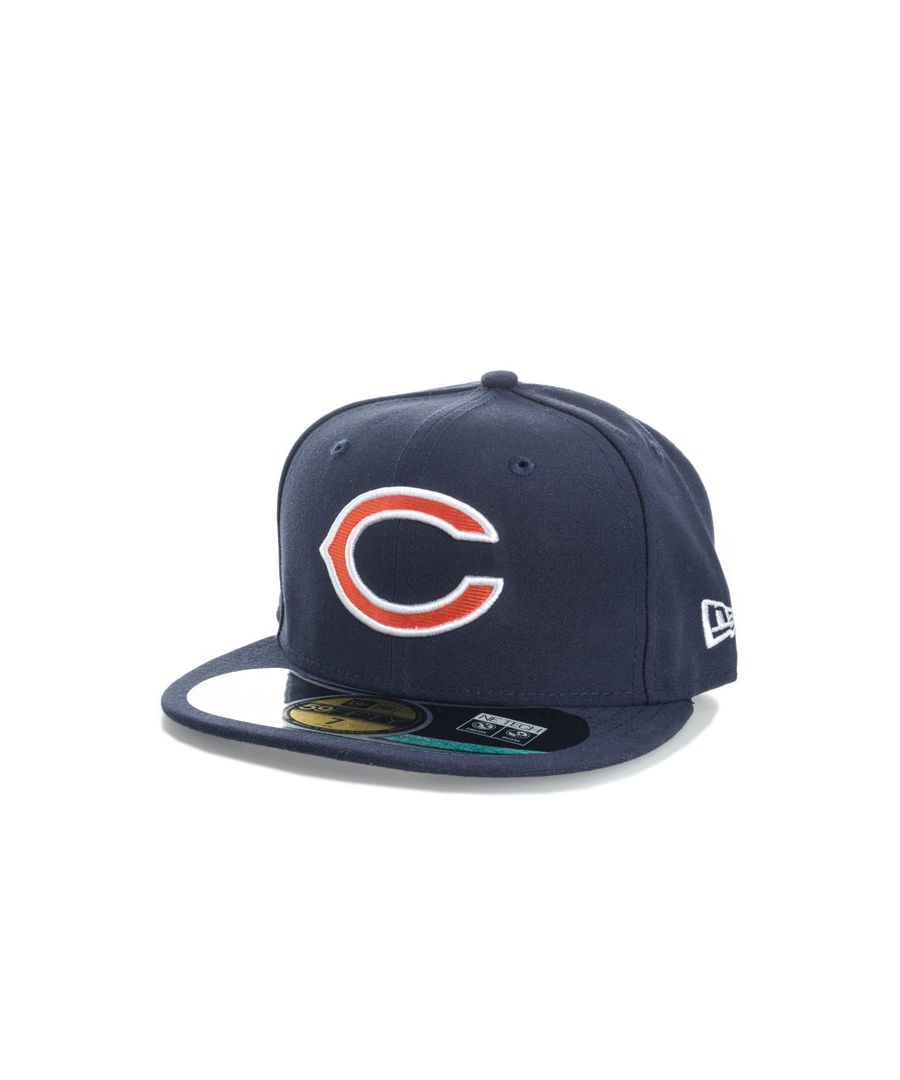Image for Accessories New Era Onfield Chicago Bears 59fifty Cap in Navy