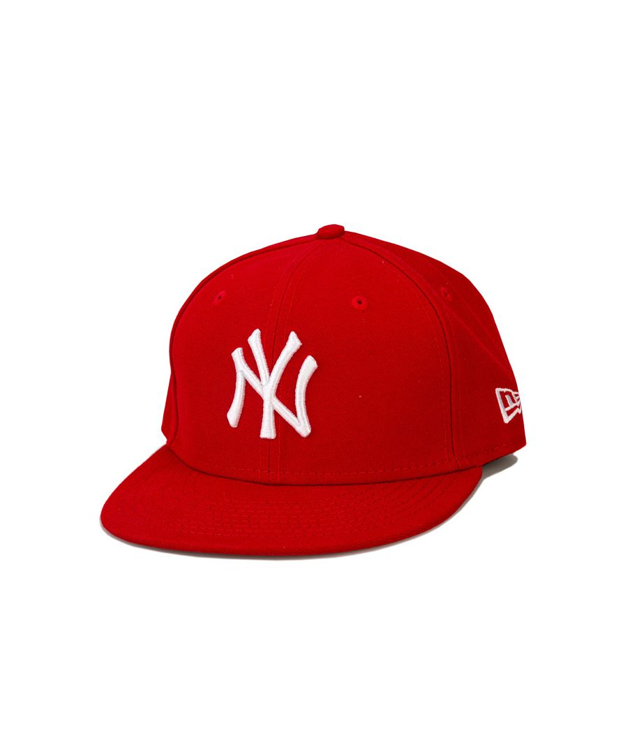 Image for Accessories New Era Kids New York Yankee Basic 59Fifty Cap in Red