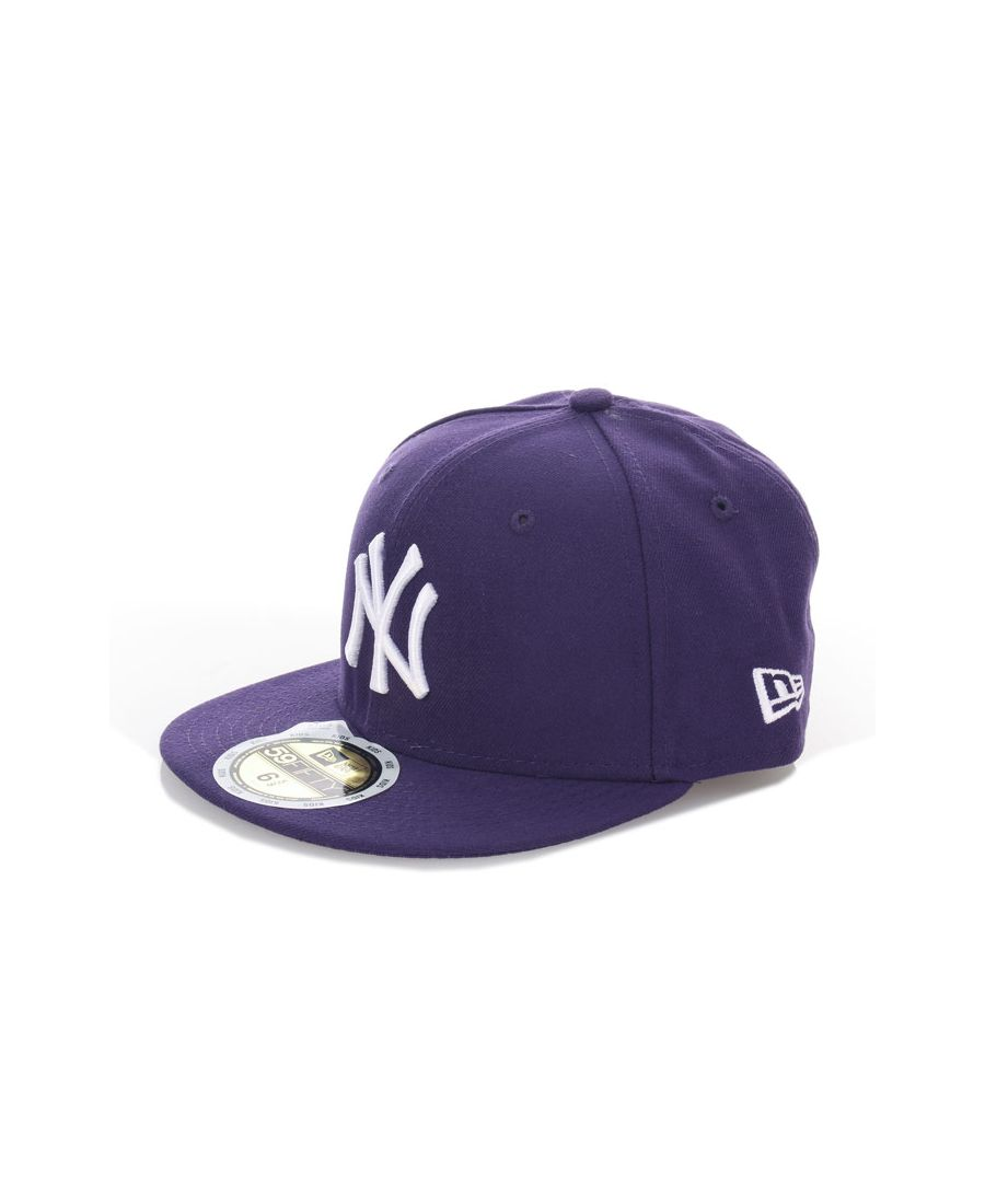 Image for Accessories New Era Kids 59Fifty MLB New York Yankees Cap in Purple