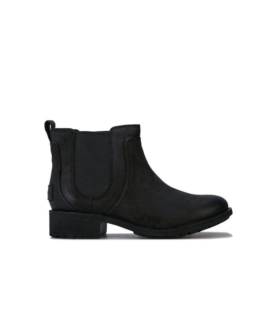 Image for Women's Ugg Australia Bonham Leather Chelsea Boots in Black