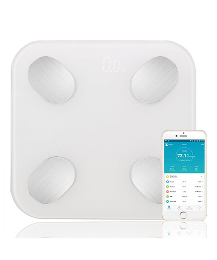 Image for Aquarius Smart Body Bluetooth Scale White