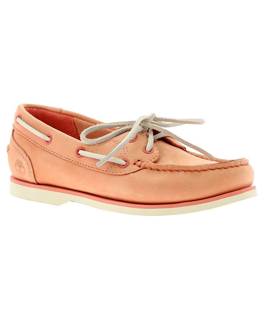 Image for Timberland Tmbl A1Nb9 Womens Ladies Flats Shoes Tan