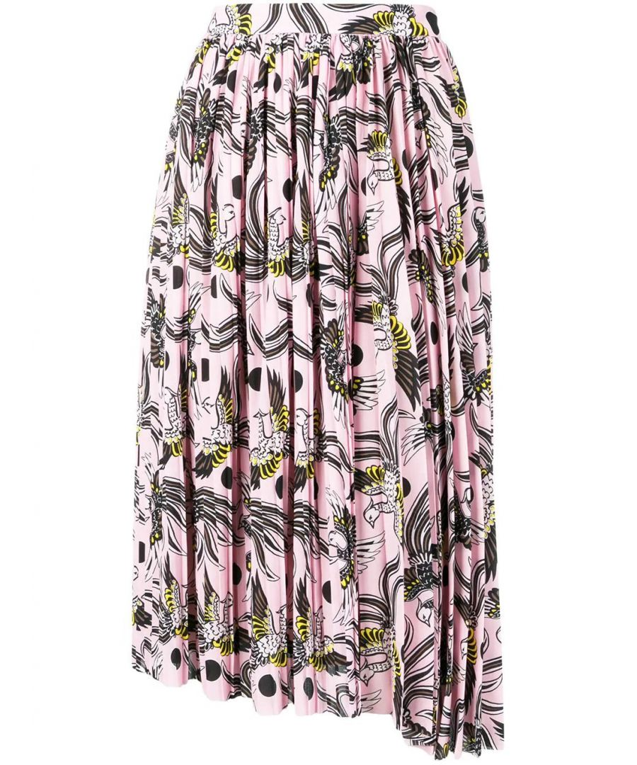 Image for KENZO WOMEN'S F952JU10055K33 PINK POLYESTER SKIRT
