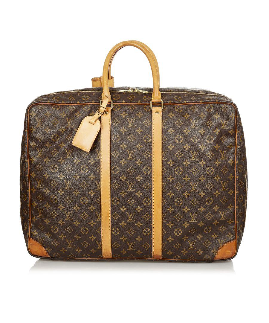 Image for Vintage Louis Vuitton Monogram Sirius 50 Brown