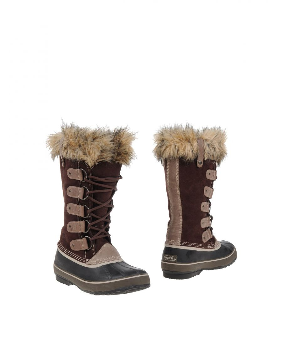 Image for Sorel Dark Brown Leather Lace Up Boots