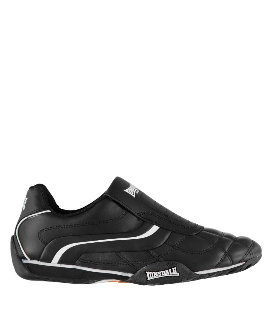 Image for Lonsdale Mens Camden Slip On Trainers Low Top Sneakers Shoes Casual Footwear