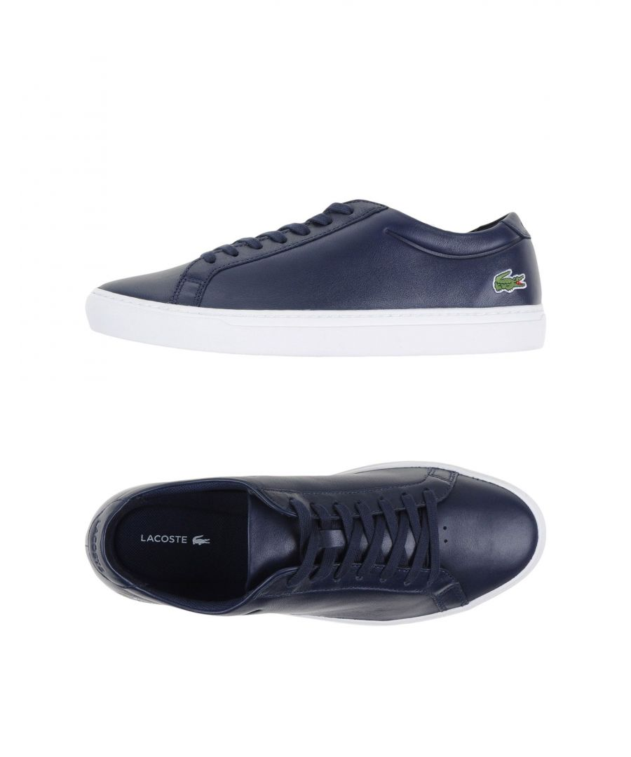 Image for Lacoste Dark blue Leather Low-tops & sneakers