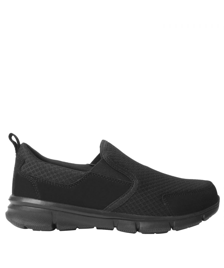 Image for Slazenger Mens Zeal Slip On Trainers Textile Memory Foam Everyday Shoes