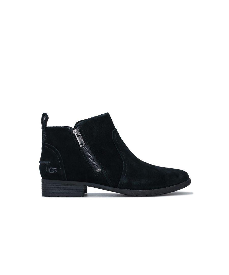 Image for Women's Ugg Australia Aureo II Suede Waterproof Boots in Black