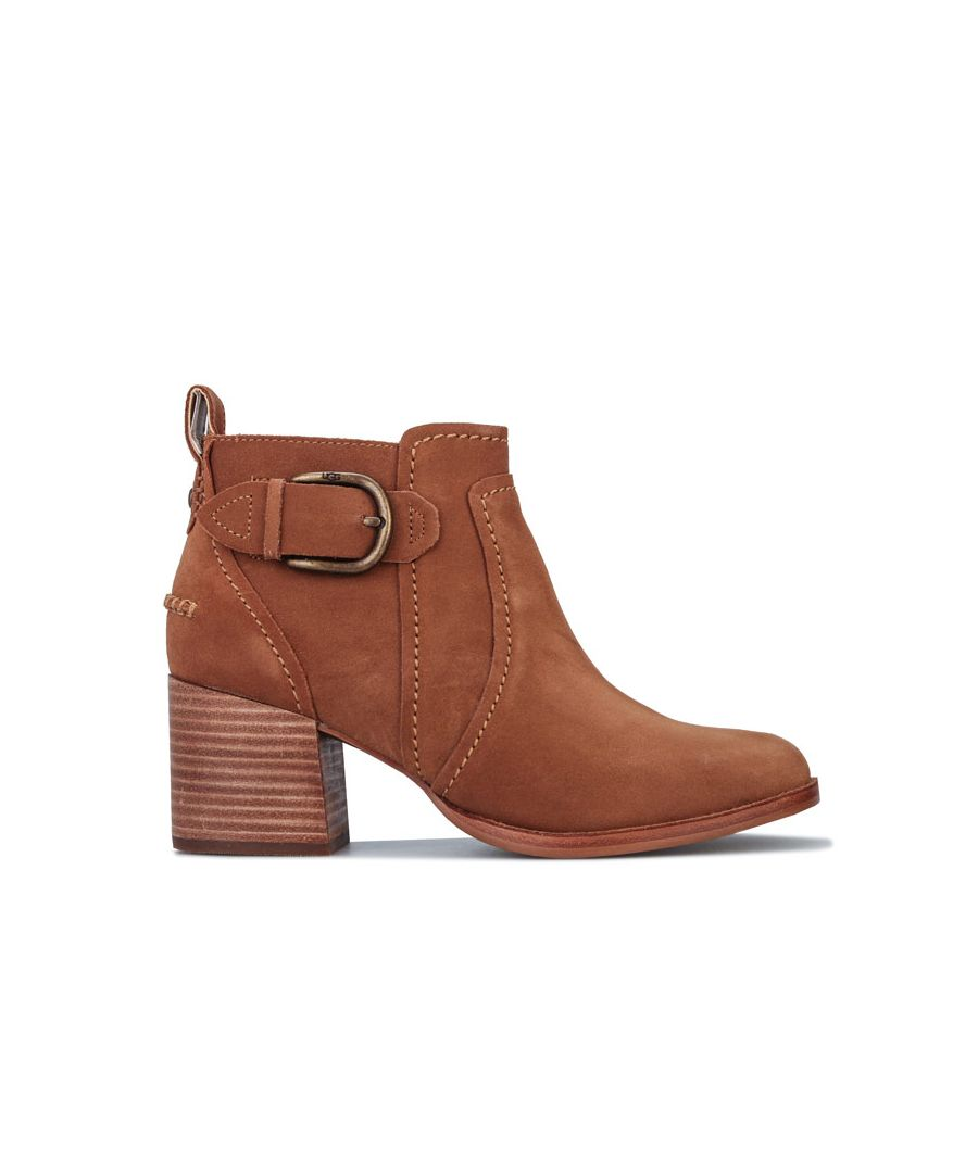 Image for Women's Ugg Australia Leahy Ankle Boots in Chestnut