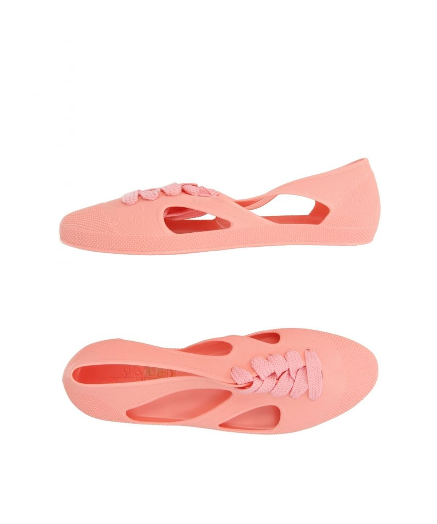 Image for F-Troupe Salmon Pink Ballet Pumps
