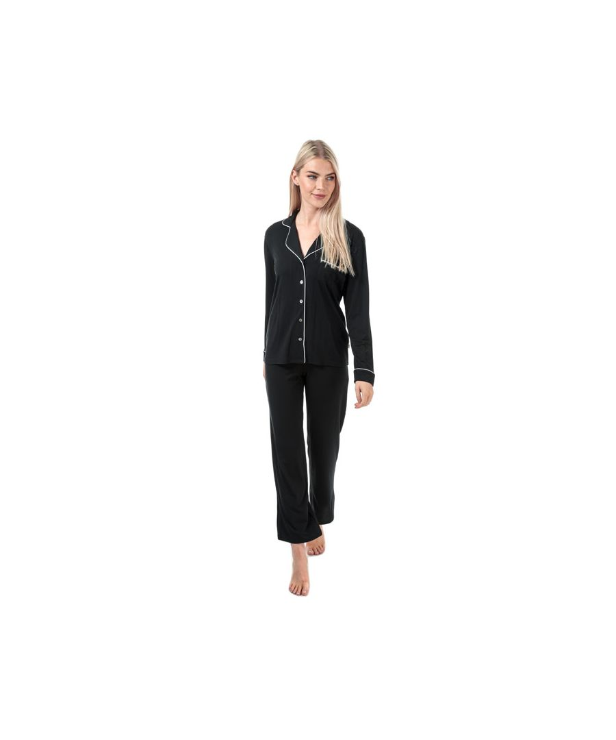 Image for Women's Ugg Australia Lenon Pyjama Set in Black