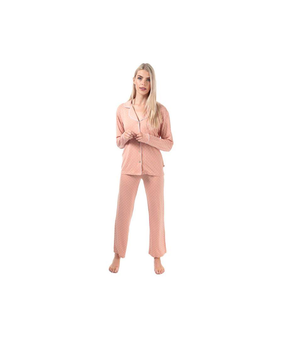 Image for Women's Ugg Australia Lenon Pyjama Set in Pink