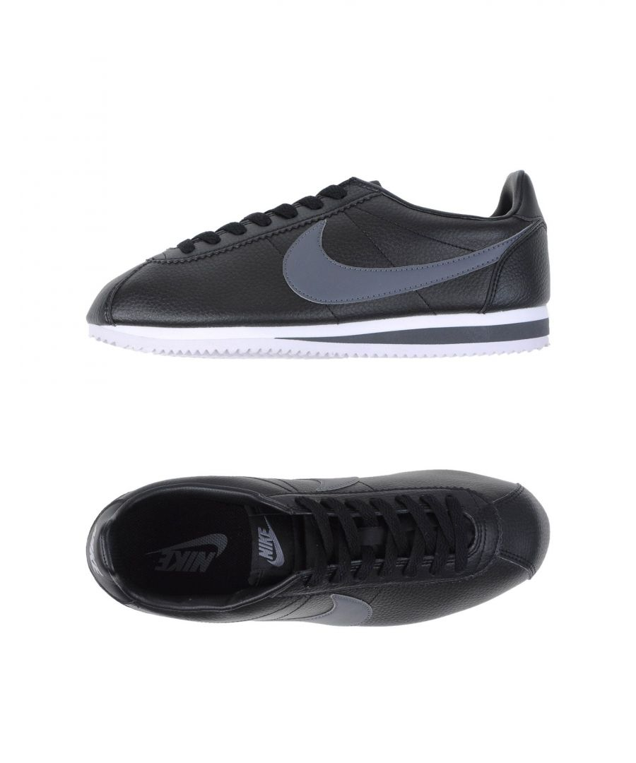 Image for Nike Black Leather Sneakers