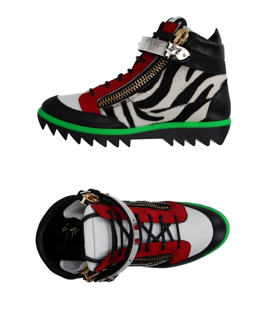 Image for Giuseppe Zanotti Black Leather Sneakers