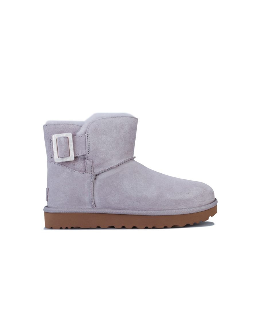 Image for Women's Ugg Australia Mini Bailey Fashion Boots in Light Grey