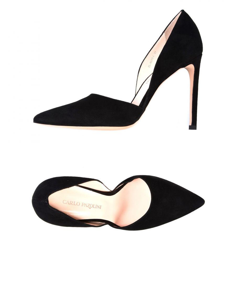 Image for Carlo Pazolini Black Suede Heels
