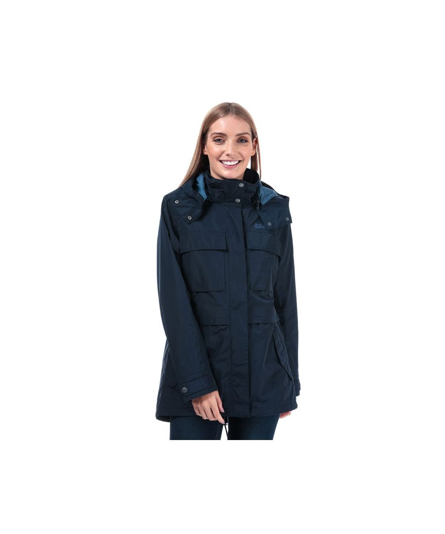 Image for Women's Jack Wolfskin Rosamund Parka Jacket in Midnight