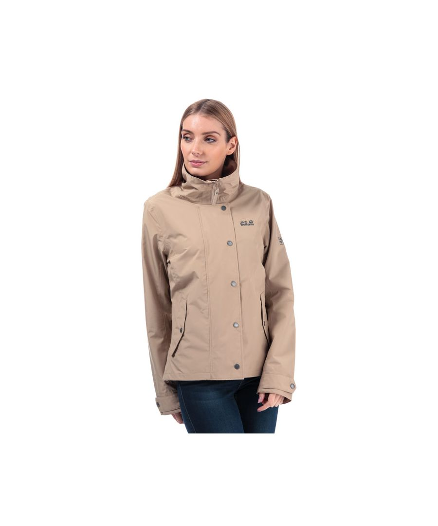 Image for Women's Jack Wolfskin Newport Jacket in Sand