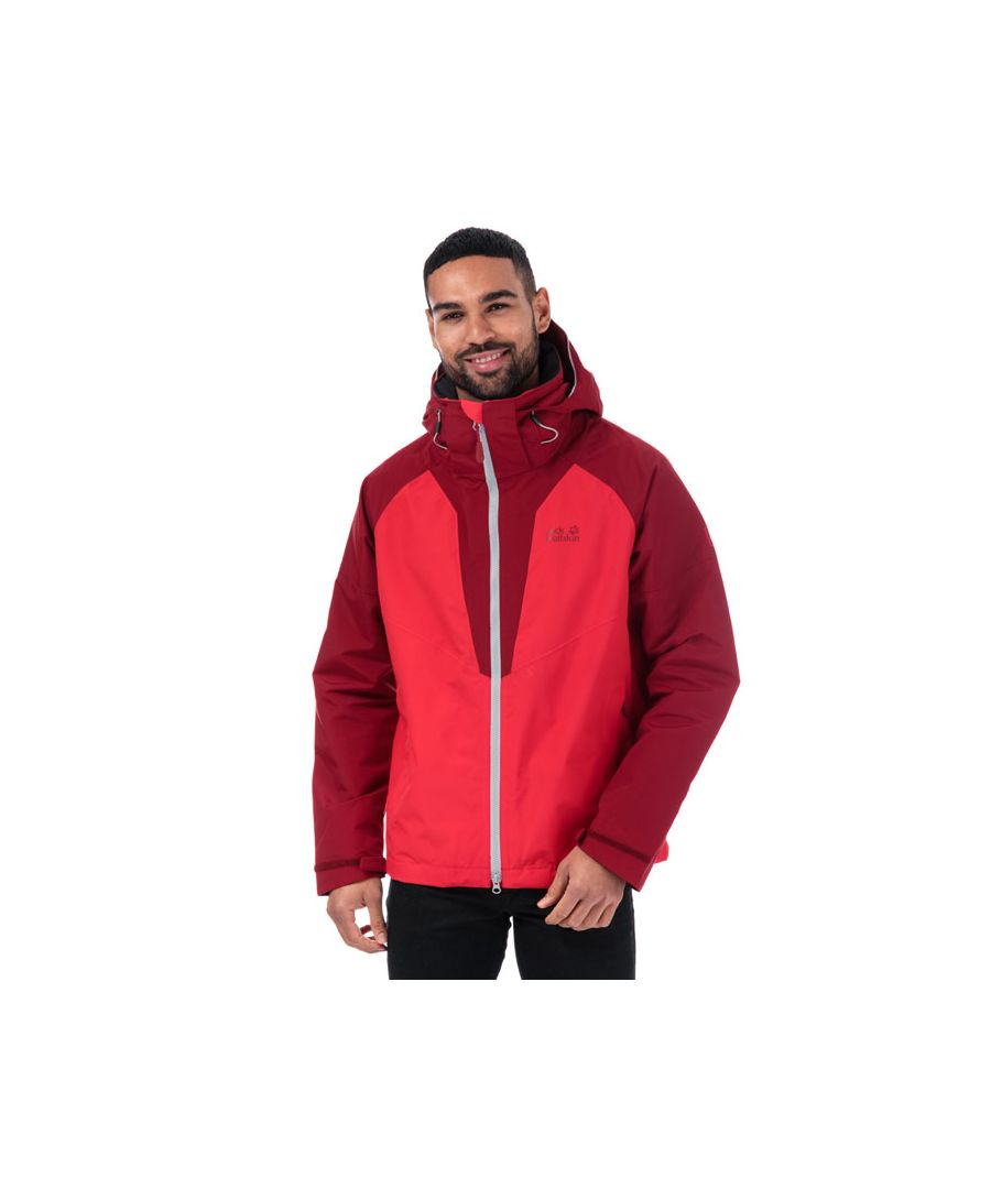 Image for Men's Jack Wolfskin Apex Summer Peak Jacket in Red