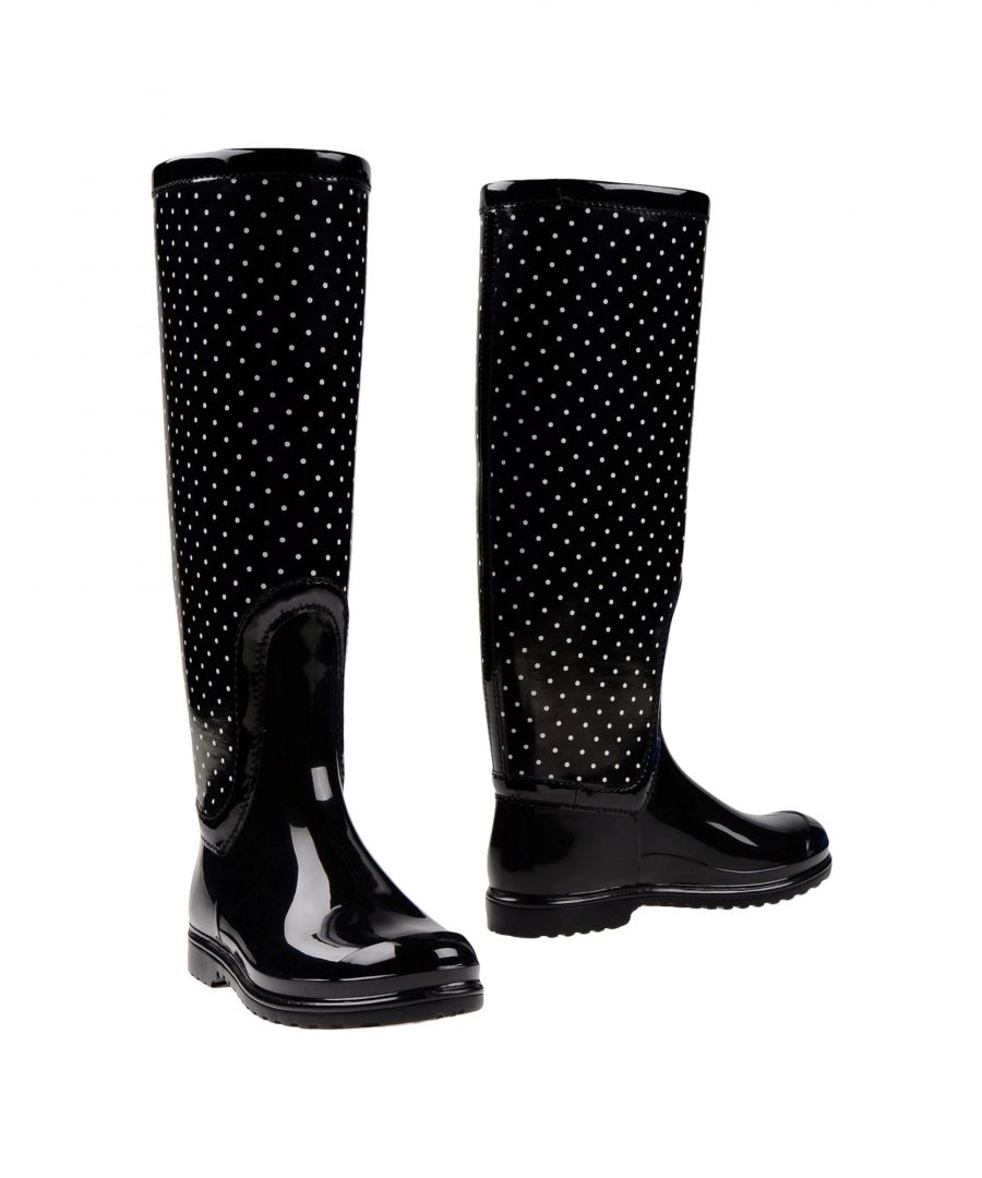 Image for Dolce & Gabbana Black Knee High Boots