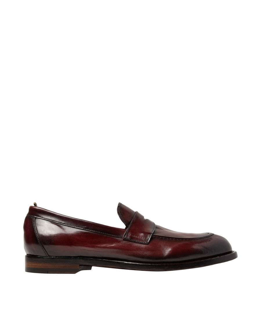 Image for Officine Creative Italia Cocoa Leather Loafers