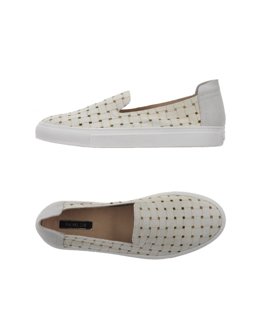Image for Rachel Zoe Ivory Calf Leather Loafers