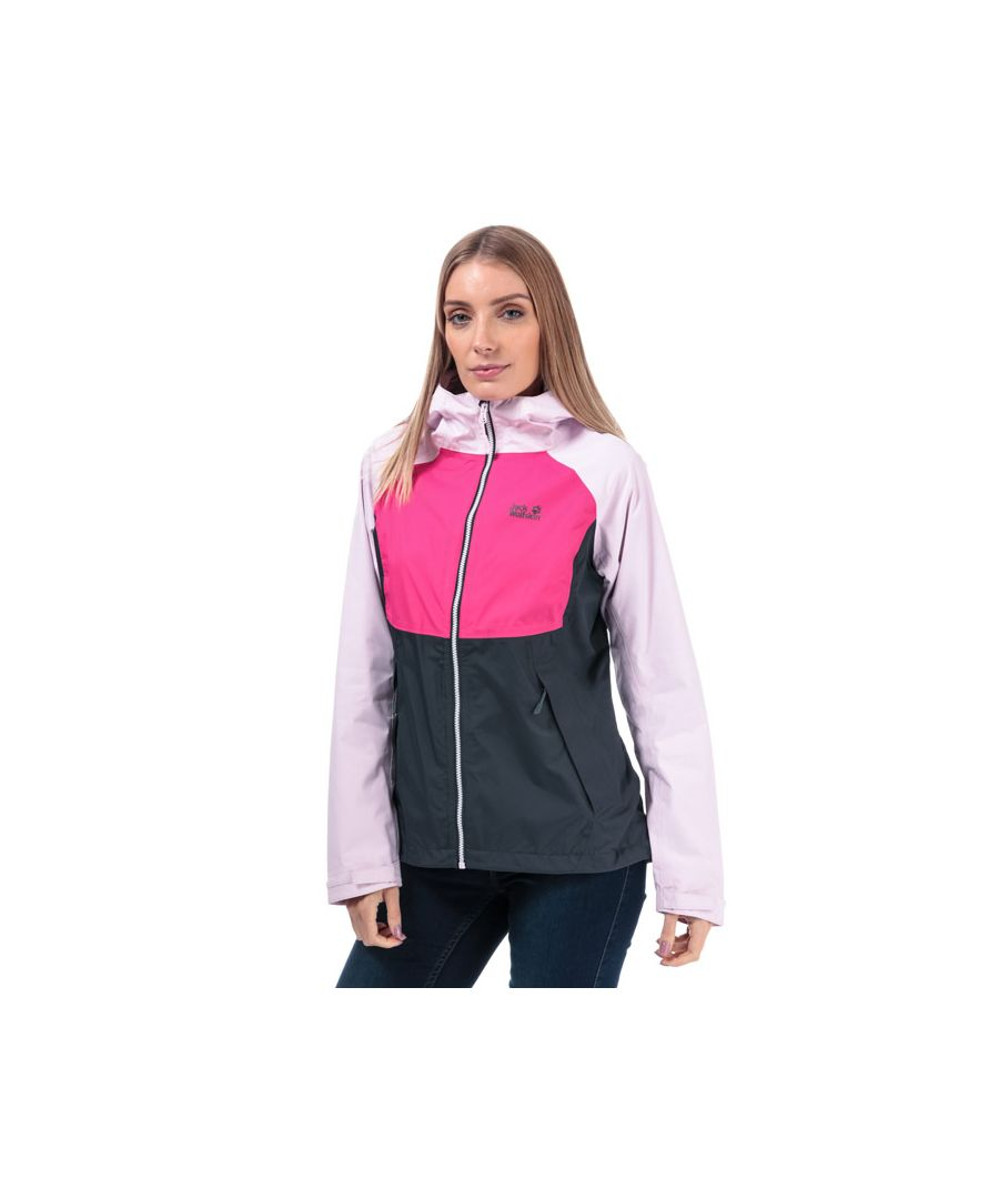 Image for Women's Jack Wolfskin Mount Isa Jacket in Pink