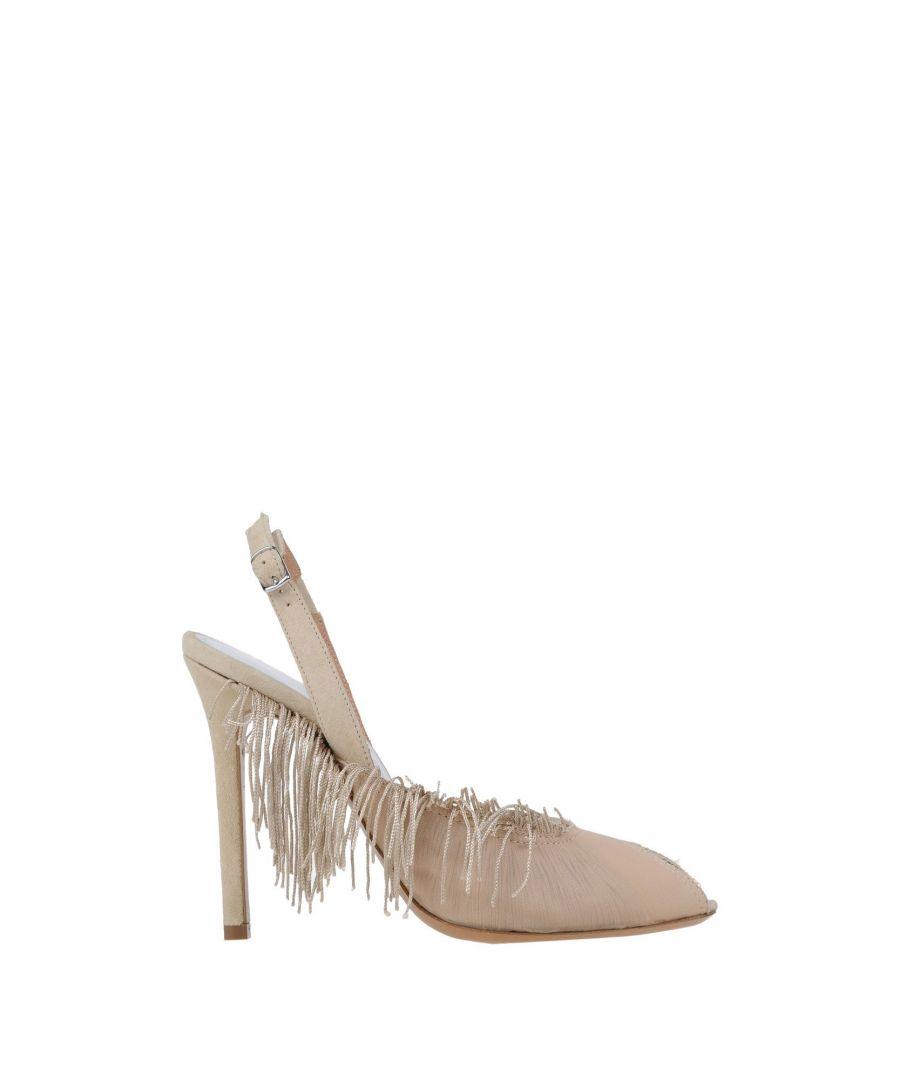 Image for Maison Margiela Beige Slingback Heels