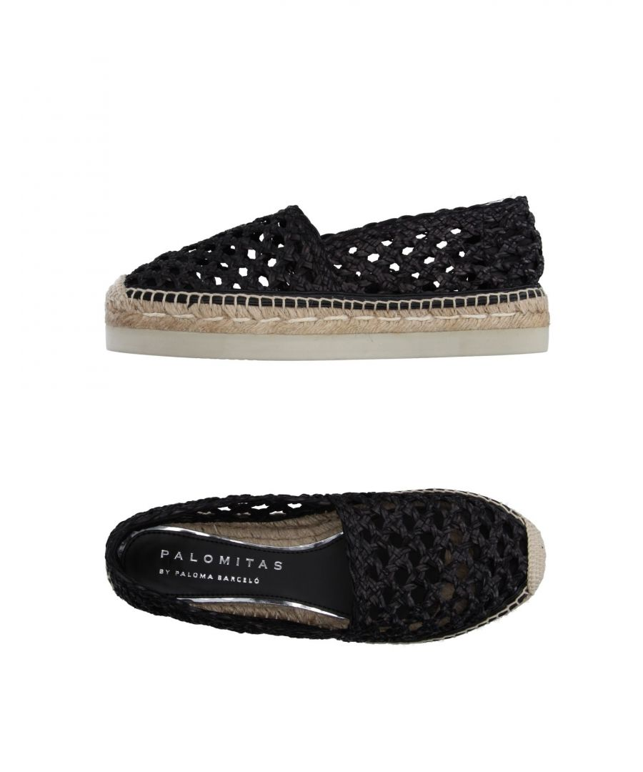 Image for Palomitas By Paloma Barceló Woman Espadrilles Black Leather