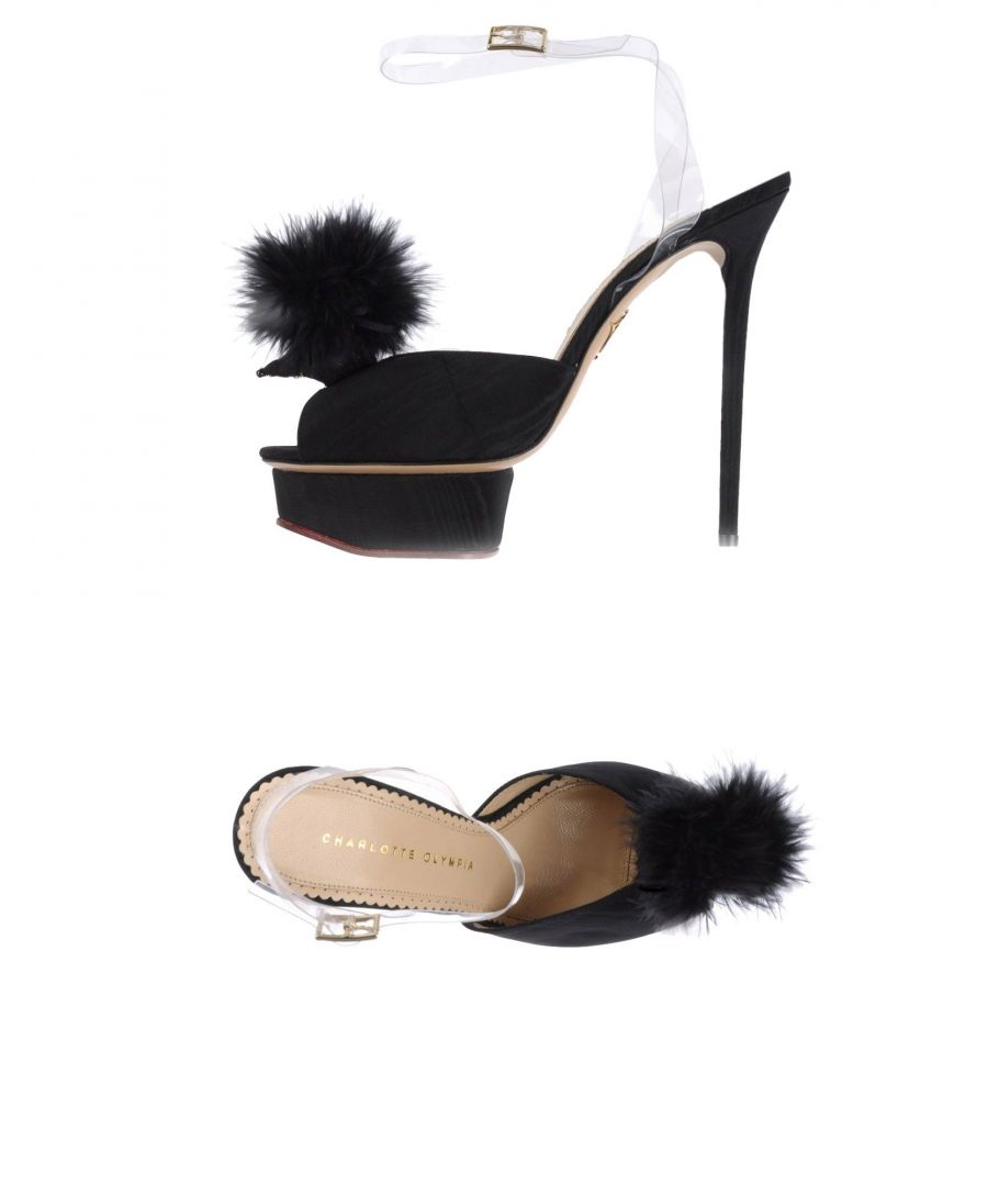 Image for Charlotte Olympia Black Heels