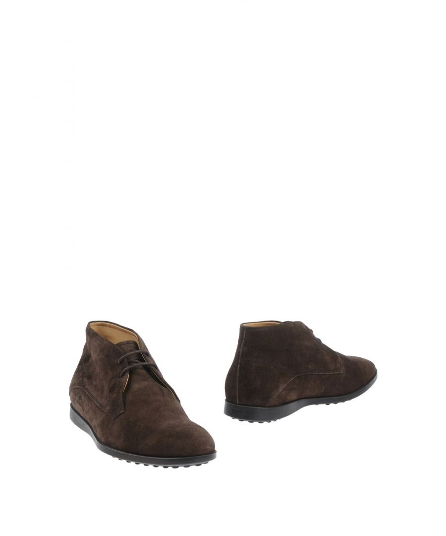 Image for Tod's Dark Brown Leather Boots