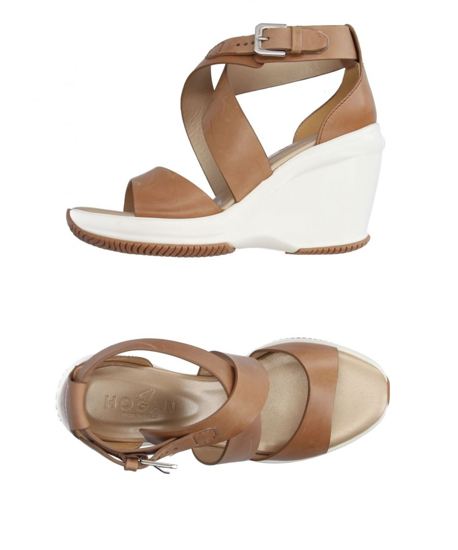 Image for FOOTWEAR Hogan Camel Woman Leather