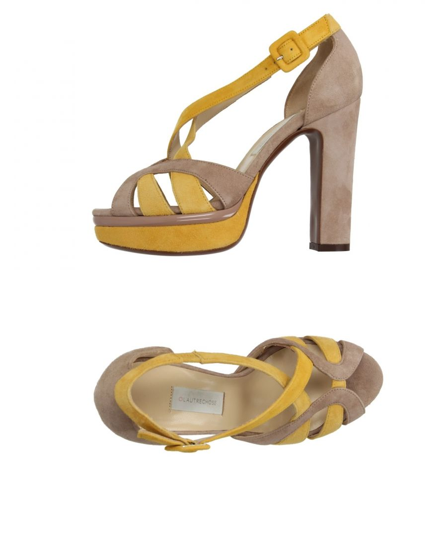 Image for L' Autre Chose Dove Grey Leather Heeled Sandals