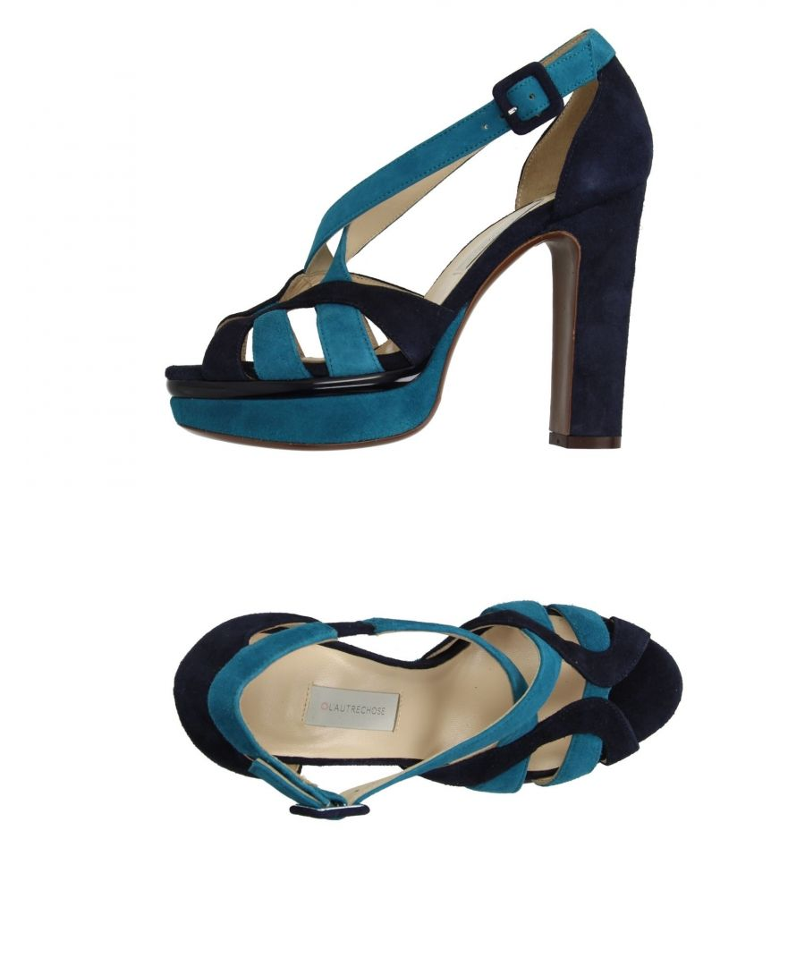 Image for L' Autre Chose Deep Jade Leather Heeled Sandals