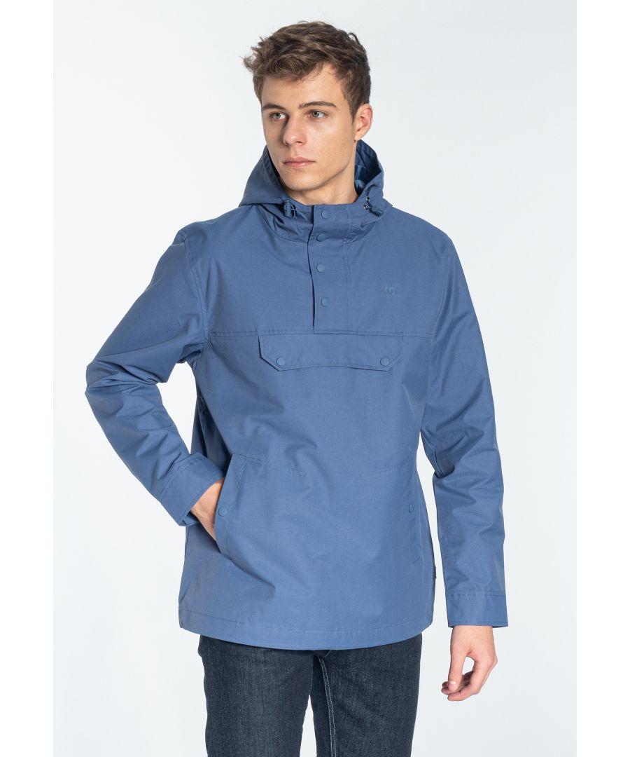 Image for Shield Pullover hooded jacket in Bright Blue