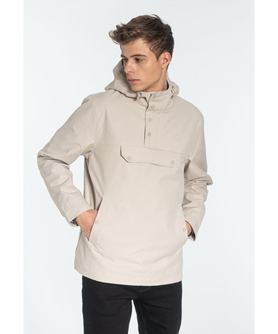 Image for Shield Pullover hooded jacket in Stone