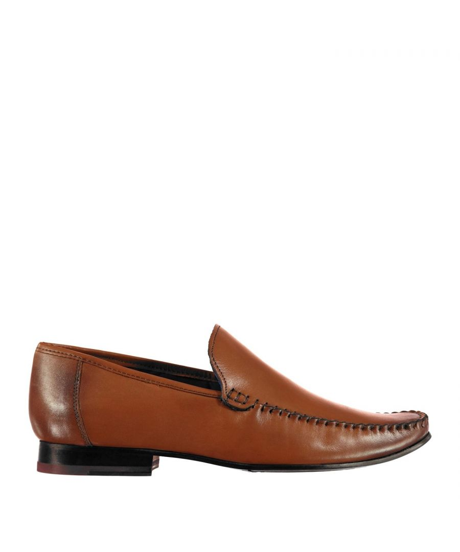 Image for Firetrap Mens Hampton Sl Shoes Lace Up Smart Formal Loafers Footwear