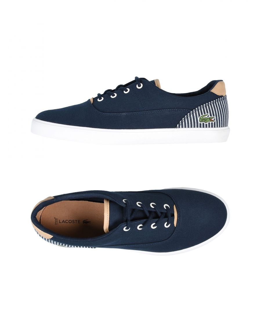 Image for Lacoste Dark Blue Canvas Sneakers