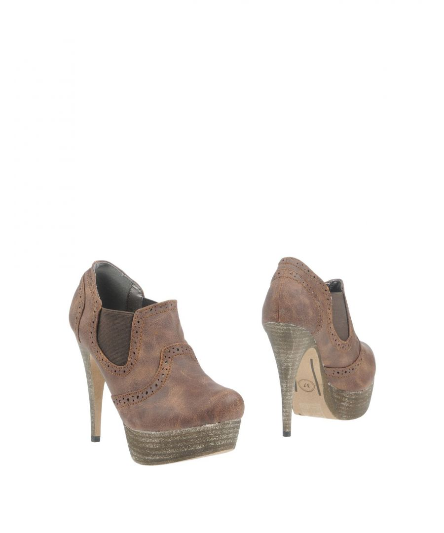 Image for Primadonna Cocoa Faux Leather Ankle Boots