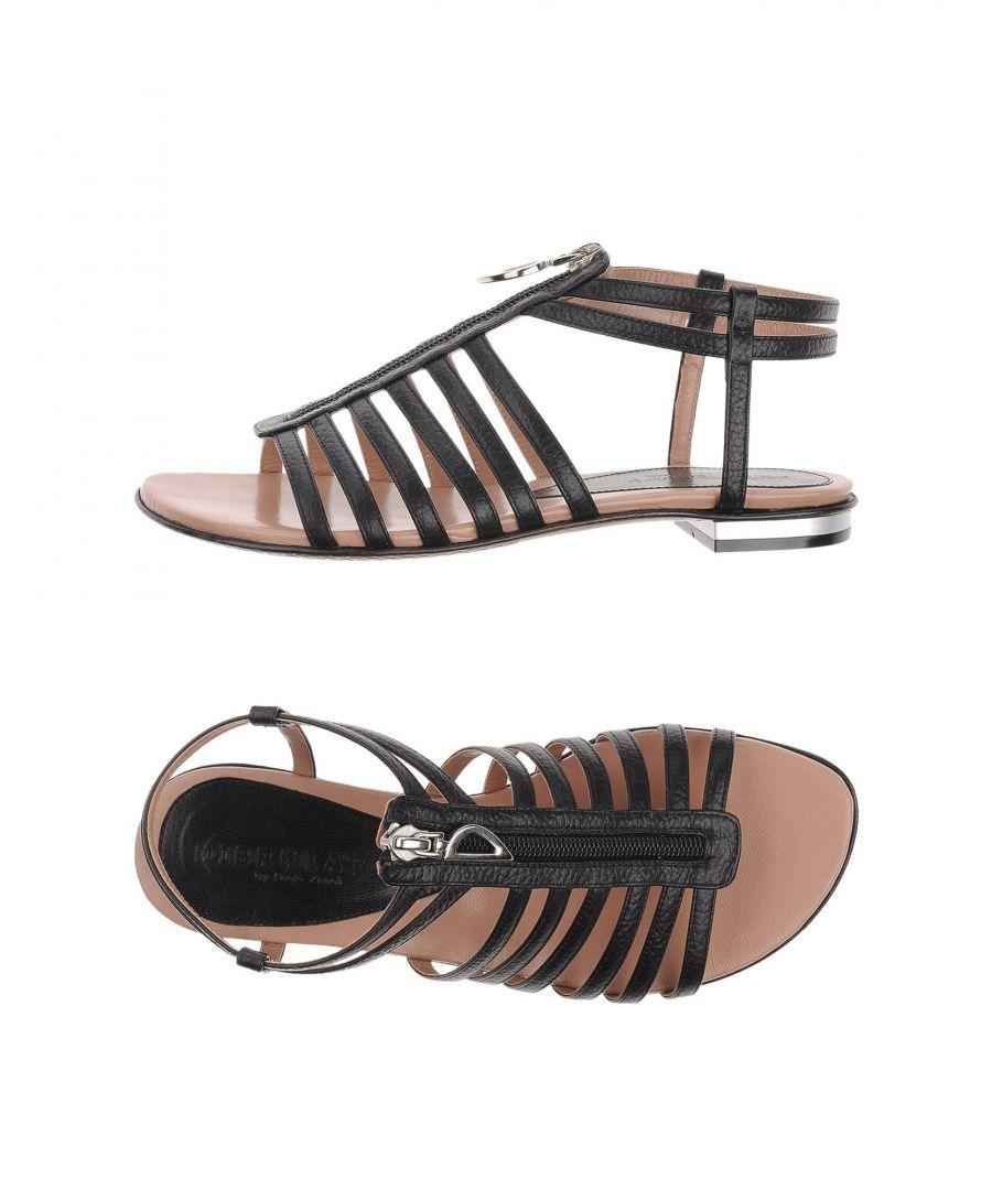 Image for Dibrera By Paolo Zanoli Black Sandals